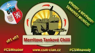 WarThunder Výhody a nevýhody Tankovej Munície | Merritovo Tankové Chilli (3.diel )