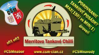 WarThunder Porovnanie - Tankové posádky na MAX vs MIN úroveň | Merritovo Tankové Chilli (2.diel )